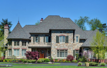 11,000 Square Foot Stone & Brick Home In Newtown Square, PA