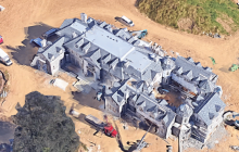 Replica Of The Stone Mansion Being Built In Mendham, NJ!