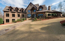 12,000 Square Foot Brick & Stone Mansion In Suwanee, GA