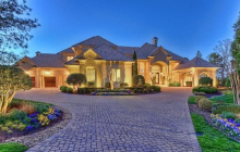 $8.495 Million Lakefront Mansion In Mooresville, NC