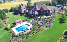 $3.5 Million Stone & Wood Home On 20 Acres In West Linn, OR