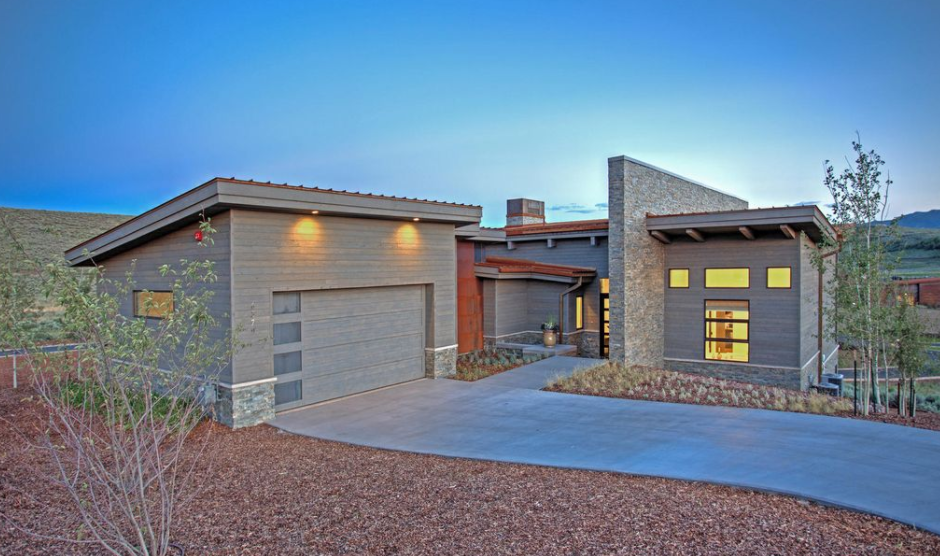 2 million newly built contemporary home in park city ut Modern homes in utah