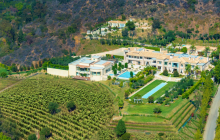Beverly Hills' Palazzo di Amore Estate Re-Listed For $129 Million