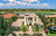 $2.995 Million Mediterranean Waterfront Home In Palm Beach Gardens, FL