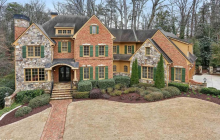 $2 Million Brick & Stone Home In Atlanta, GA
