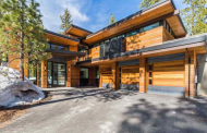 $3.995 Million Newly Built Contemporary Home In Truckee, CA