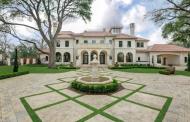 $14.5 Million Newly Built Mediterranean Mansion In Dallas, TX