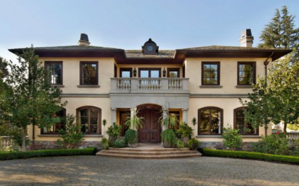 $10.25 Million Mediterranean Home In Atherton, CA
