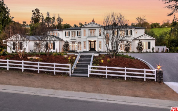 $20 Million Newly Built Mansion In Hidden Hills, CA