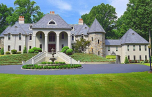 15,000 Square Foot Stone & Stucco Mansion In Malvern, PA