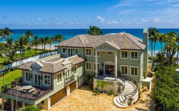 $18.5 Million Oceanfront Mansion In Hillsboro Beach, FL