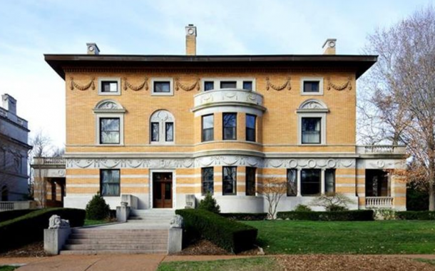 Historic Brick & Stone Mansion In Saint Louis, MO