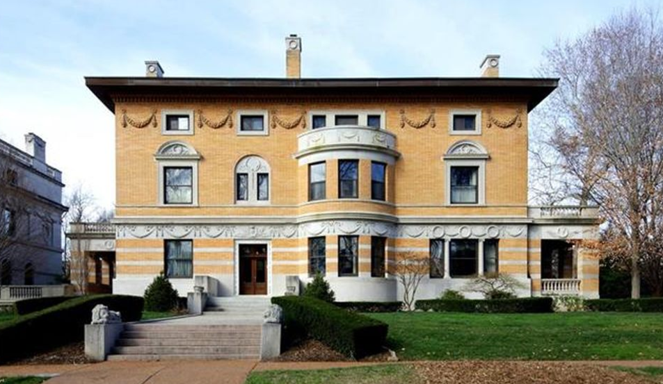 Historic Brick Stone Mansion In Saint Louis MO Homes