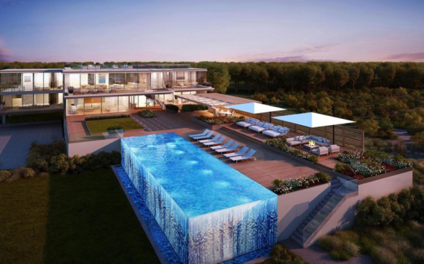 $44 Million Proposed Contemporary Oceanfront Mansion In Bridgehampton, NY