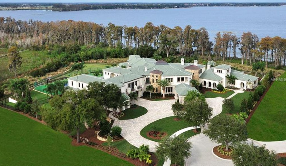 Johnny Damon Lists 31 000 Square Foot Florida Mega Mansion