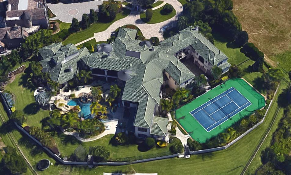Johnny Damon Lists 31 000 Square Foot Florida Mega Mansion