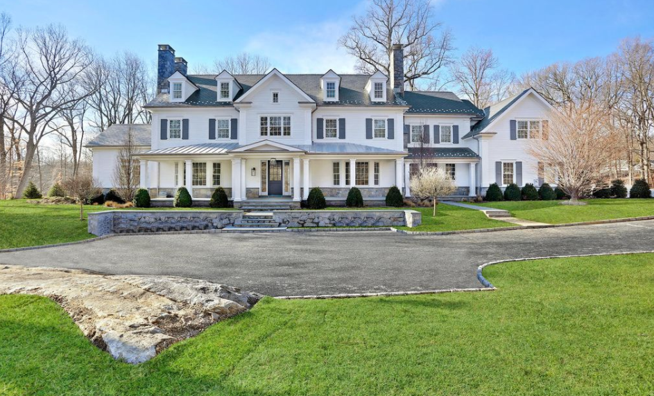 12 000 square foot newly built colonial mansion in for Connecticut home builders