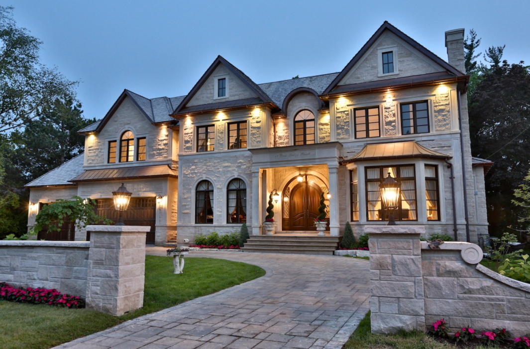11 000 Square Foot Stone Mansion In Toronto Canada