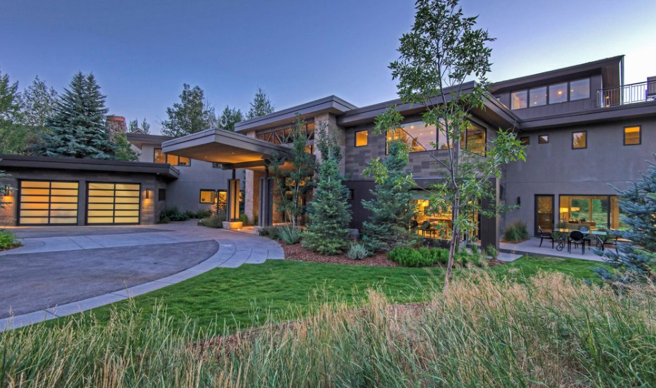 10 000 square foot contemporary home in park city ut Modern homes in utah