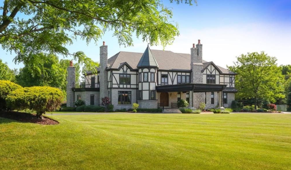 English Tudor Home On 10 Acres In Clarence NY & English Tudor Home On 10 Acres In Clarence NY | Homes of the Rich