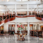 2-story Foyer with Double Staircase