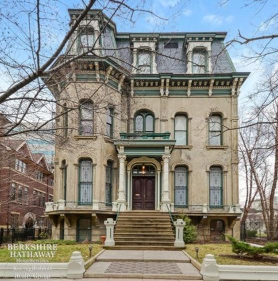 10,000 Square Foot Historic Mansion In Chicago, IL
