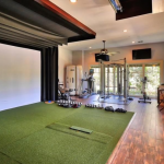 Golf Simulator Room/Gym