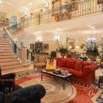 2-story Great Room with Staircase