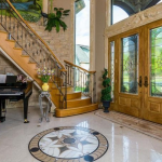 2-story Foyer with Staircase