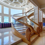 Staircase & Great Room