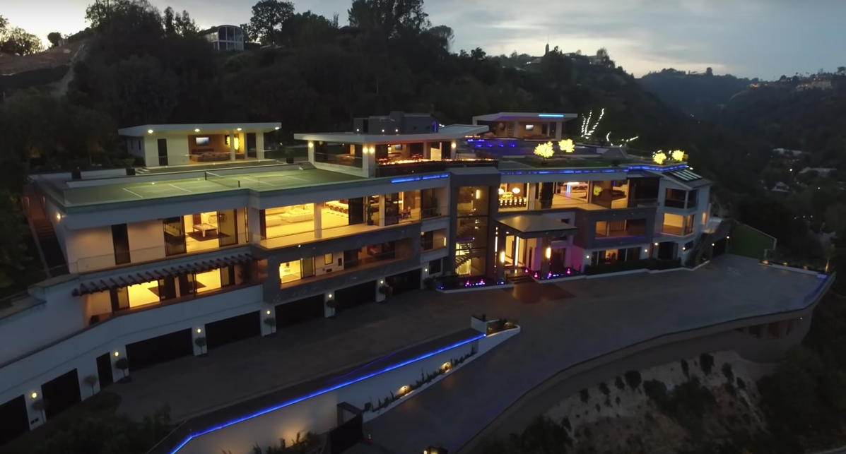 100 Million Newly Built Modern Mega Mansion In Bel Air