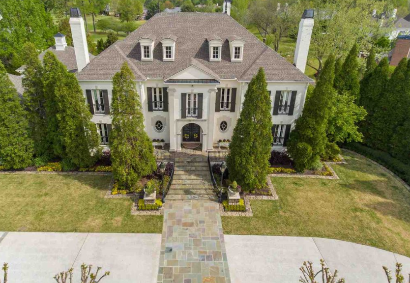 10 000 Square Foot Brick Home In Memphis Tn Homes Of