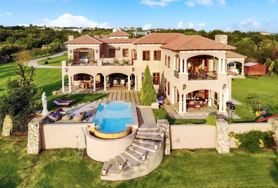 Rich African Houses 9,000 Square Foot Home...