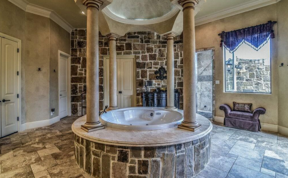 10 000 Square Foot Stone Stucco Mansion In Burleson Tx