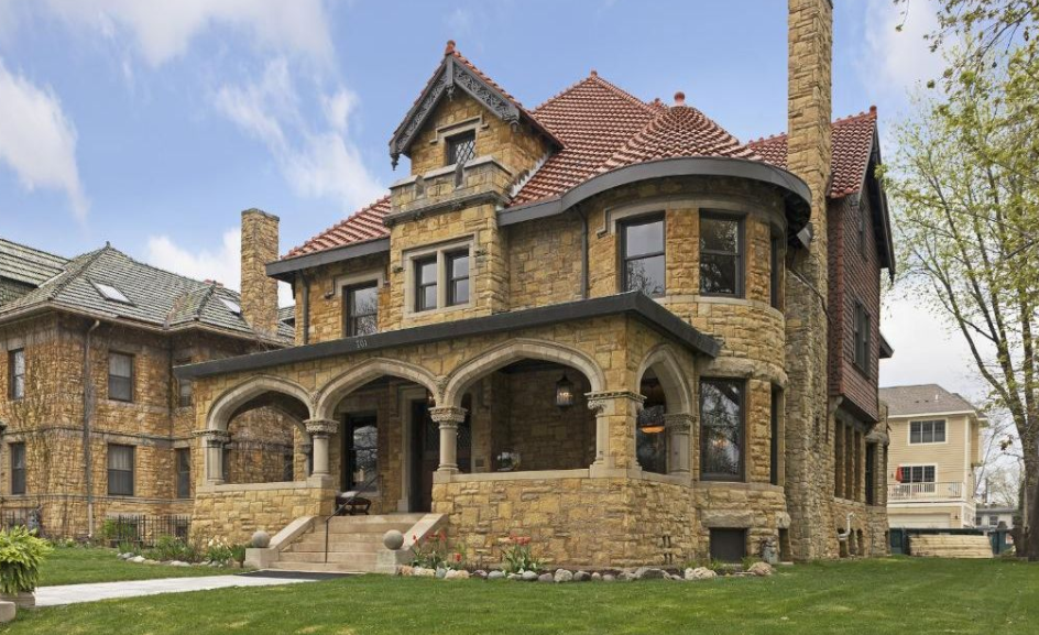 1 75 Million Historic Stone Home In Saint Paul Mn