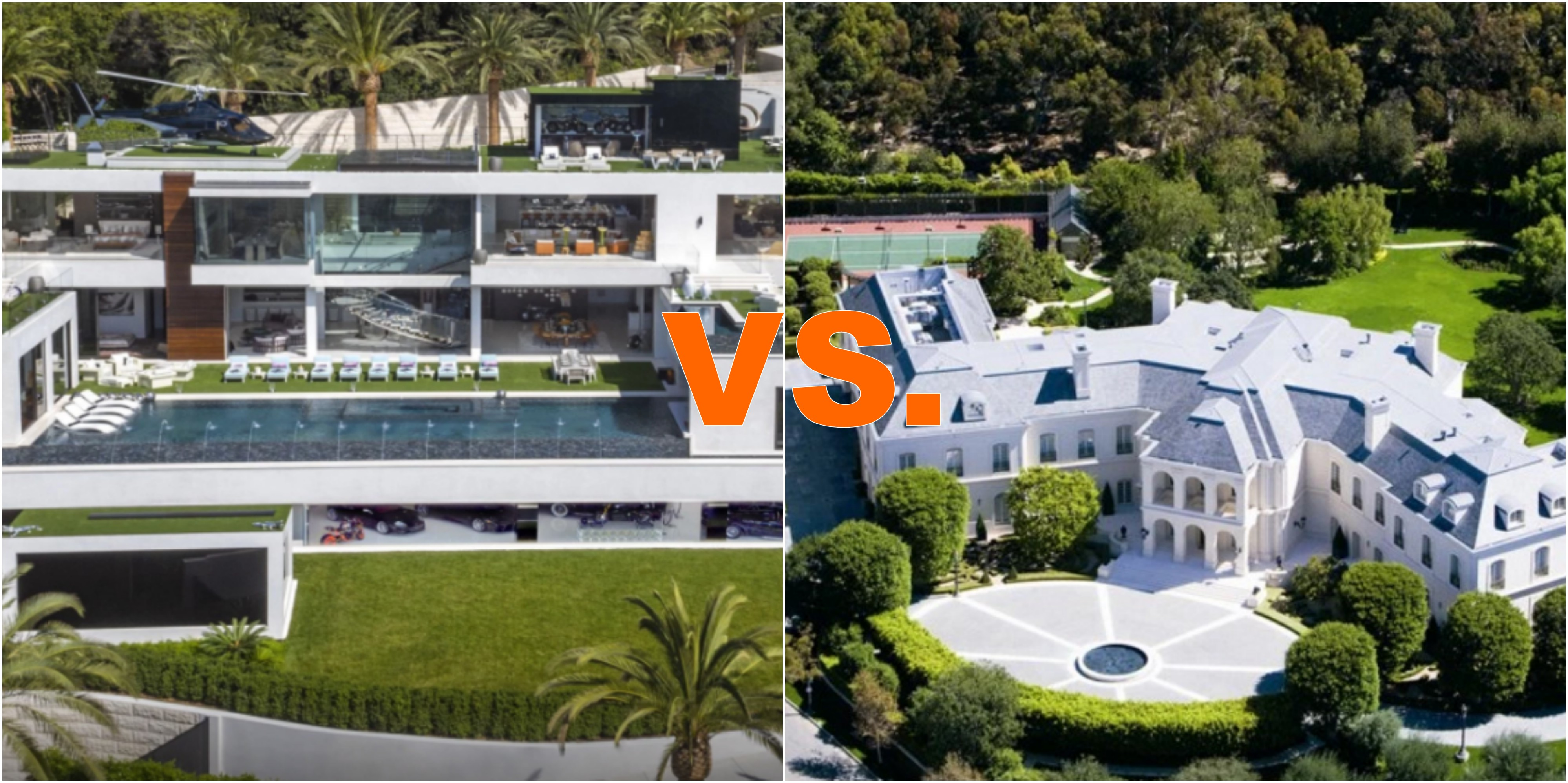 Battle Of The 200 Million Los Angeles Mega Homes on Luxury Penthouse Apartment Floor Plans