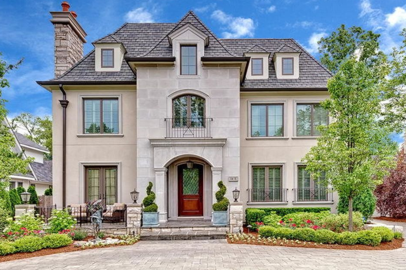 2 4 Million French Provincial Style Home In Hinsdale Il Homes Of The Rich