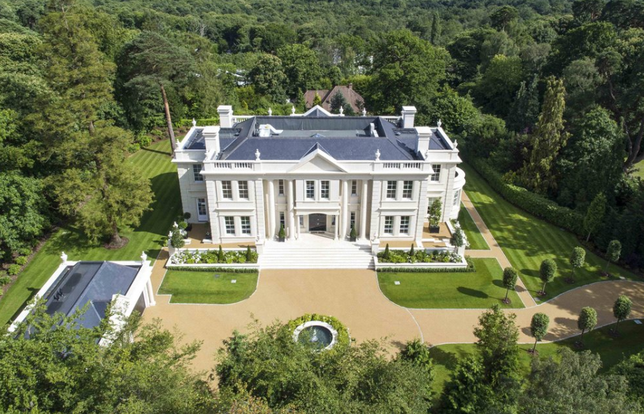 The ramparts a stately newly built mansion in surrey for Country mansion for sale