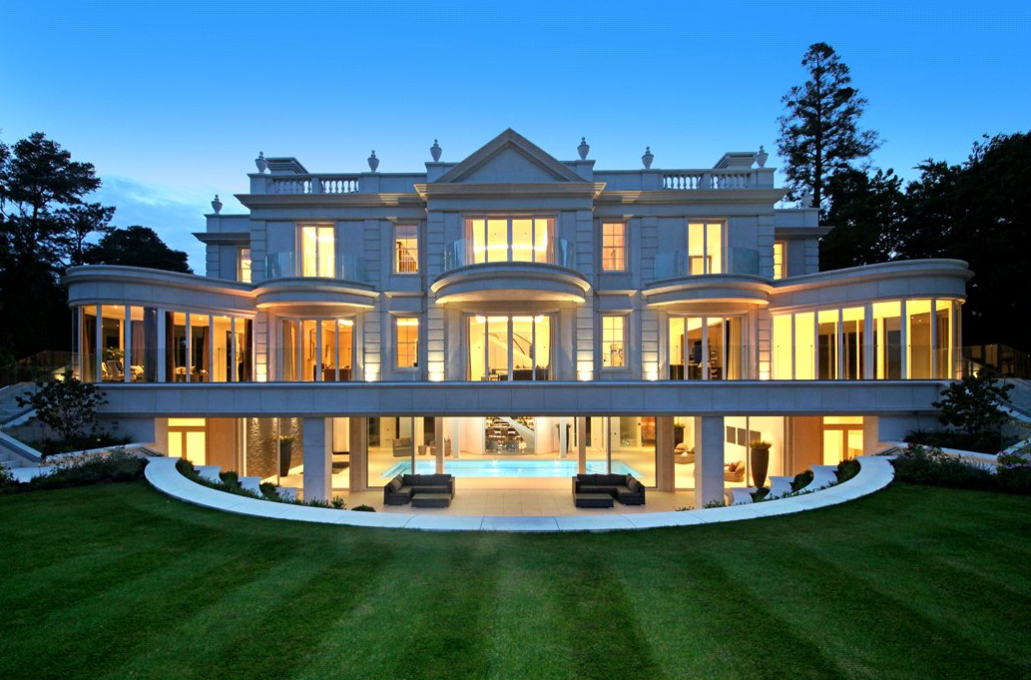 The Ramparts A Stately Newly Built Mansion In Surrey England Floor Plans on House Floor Plans With Indoor Pool