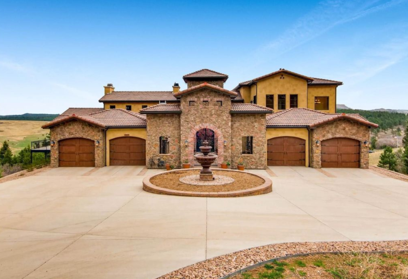 1 5 Million Stone Amp Stucco Home In Larkspur Co Homes