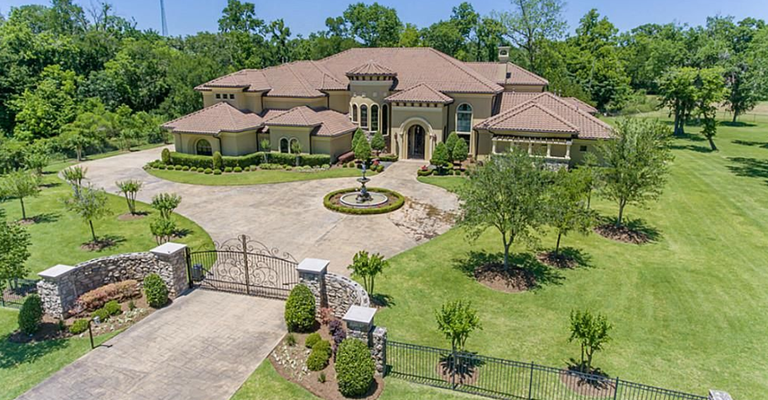 10 000 square foot mediterranean style mansion in richmond for 10000 square feet to acres
