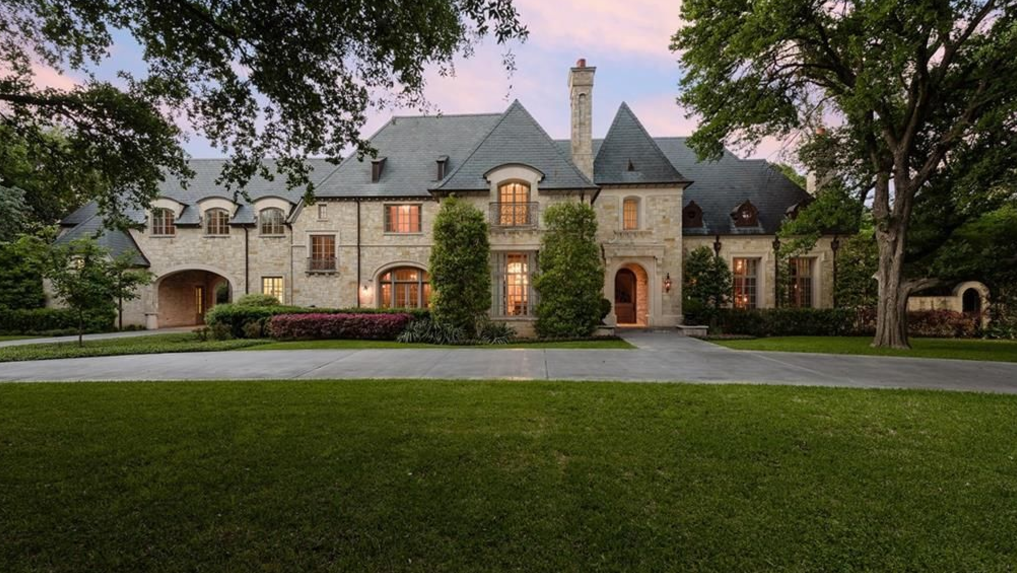 10 000 square foot english manor style mansion in dallas. Black Bedroom Furniture Sets. Home Design Ideas