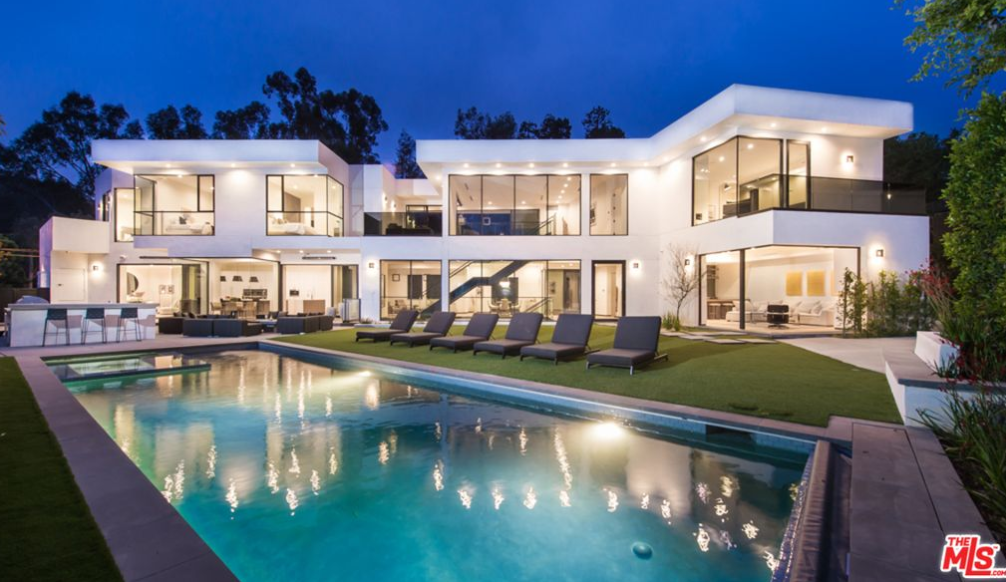 Million newly built modern mansion in los angeles for California los angeles houses