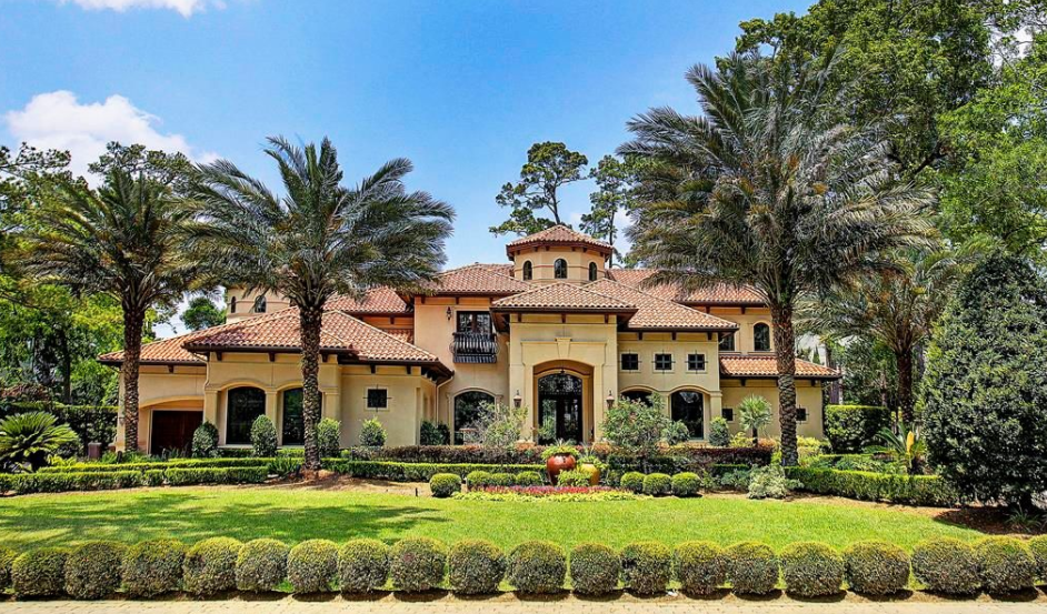 Million mediterranean style home in houston tx Mediterranean style homes houston