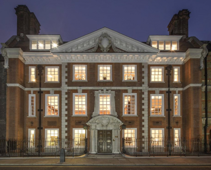 36 million historic brick mansion in london england for Luxury homes in london