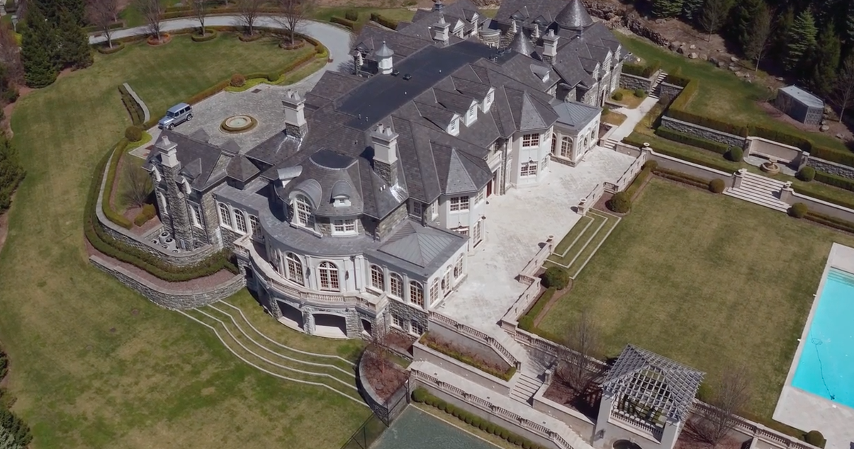 The Stone Mansion In Alpine Nj Re Listed For 45 Million