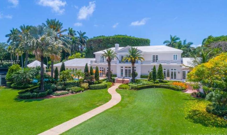 49 million waterfront mansion on star island in miami beach  fl