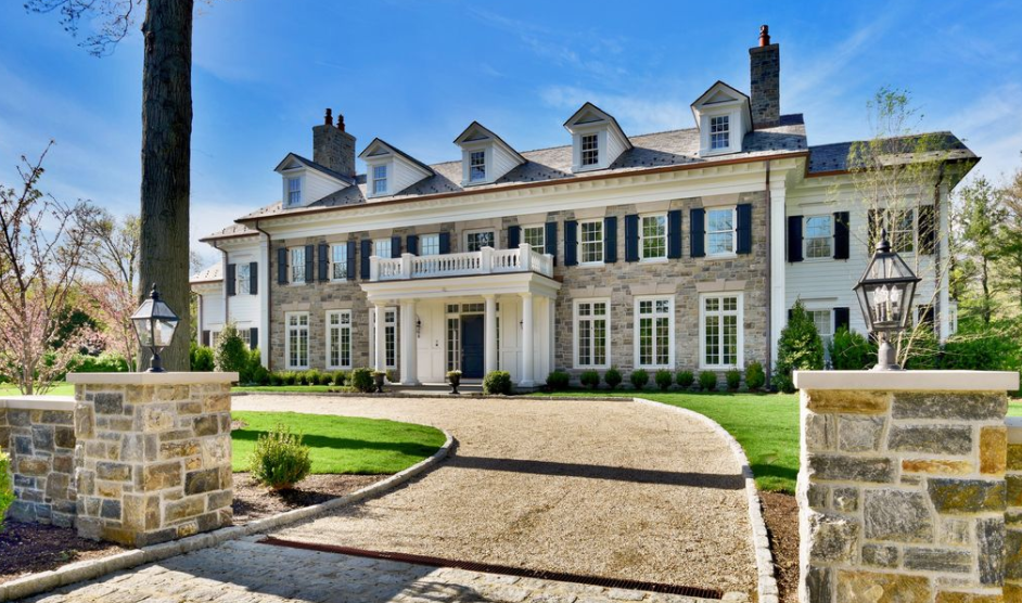 $6.95 Million Newly Built Georgian Colonial Style Mansion In Scarsdale, NY  (FLOOR PLANS)