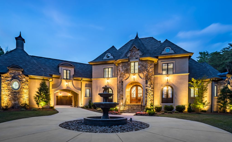 12 000 square foot european style mansion in charlotte nc for European estate house plans