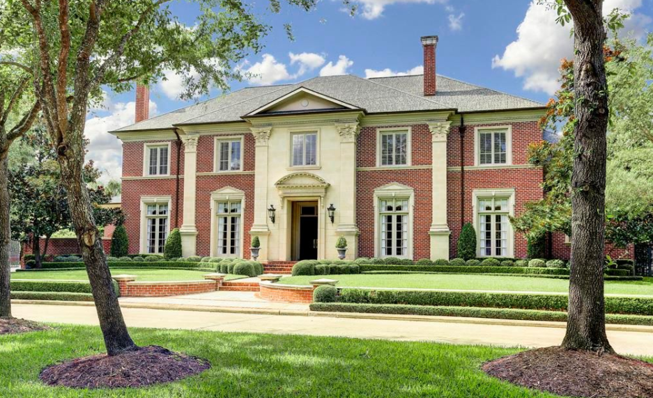11,000 Square Foot Georgian Style Mansion In Houston, TX